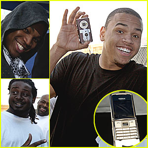 Chris Brown Loves Him Some Nokia
