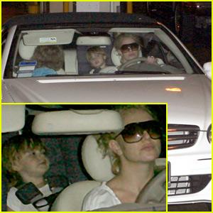 Britney Drives Again