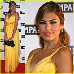 Eva Mendes Launches 2008 Campari Calendar
