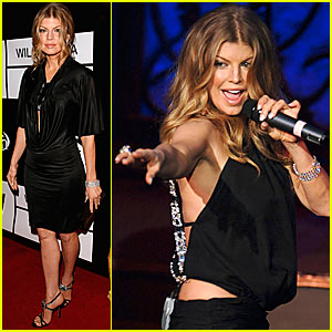 Fergie Works It For Wilhelmina