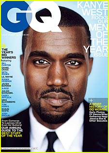 Kanye West Rocks GQ's Men of the Year