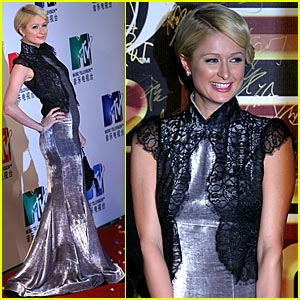 Paris Hilton @ China's MTV Style Gala