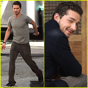 Shia LaBeouf Has an Eagle Eye