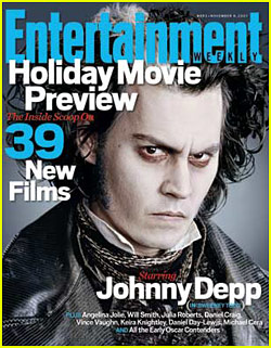 Sweeney Todd Takes Entertainment Weekly Cover