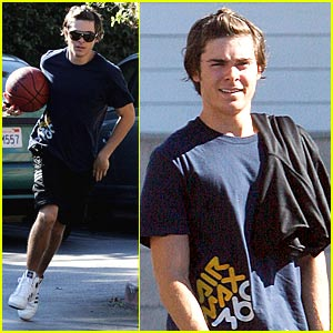 Zac Efron is a Basketball Balla