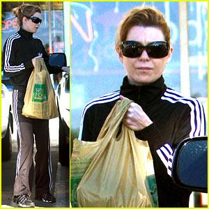 Ellen Pompeo's Grocery Store Run