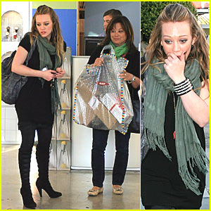 Hilary Duff Hits West Hollywood