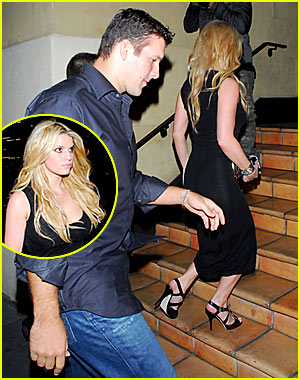 Jessica Simpson & Tony Romo's Date Night Out