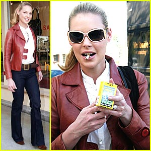 Katherine Heigl Has an American Spirit