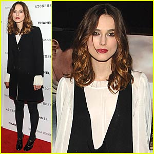 Keira Knightley @ 'Atonement' Screening