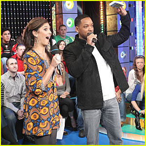 Will Smith with New MTV VJ Lyndsey Rodrigues