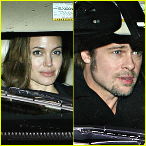 Angelina Jolie and Brad Pitt: Date Night
