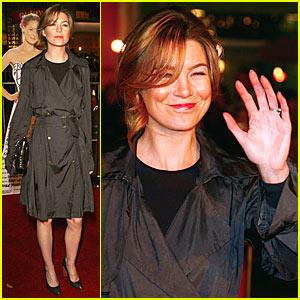 Ellen Pompeo @ '27 Dresses' Premiere