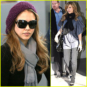 Jessica Alba's Supermarket Sweep