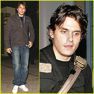 John Mayer Flies the Friendly Skies