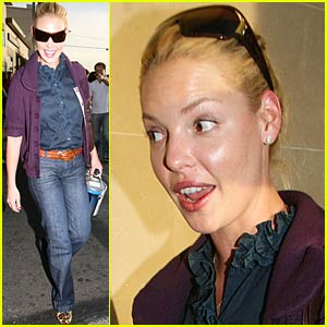 Katherine Heigl Picks Out Paint