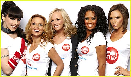 Spice Girls Provide Sport Relief