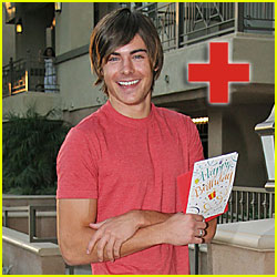 Zac Efron: HOSPITALIZED!!!!!