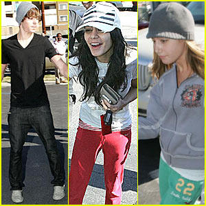 Zanessa & Ashley Tisdale Play Paty Cake
