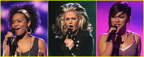 American Idol 7: Top 10 Girls -- VIDEO