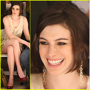 Anne Hathaway is Fashion Forward