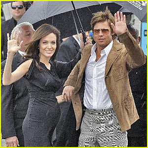 Brad and Angelina - Wavin' In the Rain