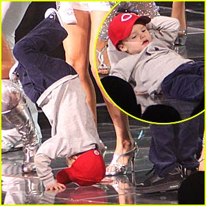 Cruz Beckham is a Breakdancing Boy