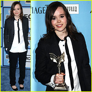 Ellen Page @ Film Independent's Spirit Awards