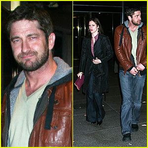 Gerard Butler is a Leather Head