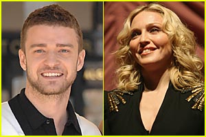 Timberlake Will Induct Madonna Into Hall of Fame