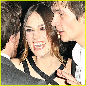 Keira Knightley is Scary