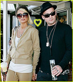 Paris Hilton & Benji Madden Hold Hands