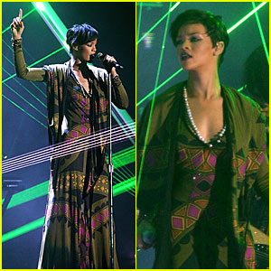 Rihanna's Brit Awards Performance Video