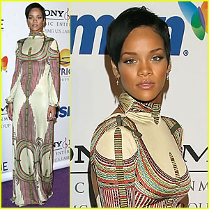Rihanna @ Clive Davis Pre-Grammy Party