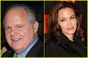 Rush Limbaugh Praises Angelina Jolie