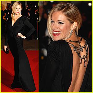 Sienna Miller @ BAFTA Awards 2008