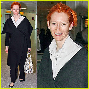 Tilda Swinton is Red Hot