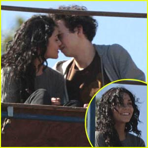 Vanessa Hudgens Kisses Another Man (Not Zac Efron!)
