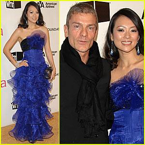 Ziyi Zhang couple