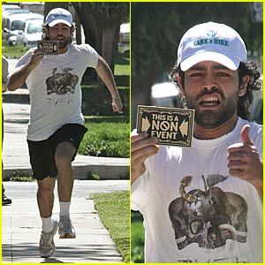 Adrian Grenier is a Non-Event
