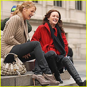 When Blake Lively MET Leighton Meester