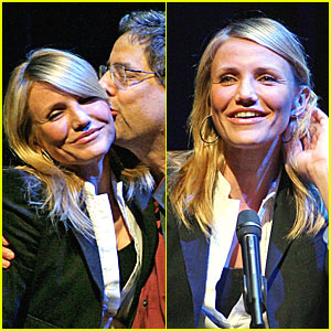 Cameron Diaz Gets Frisky with Fox