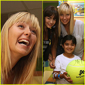 Maria Sharapova Serves Up a Helping Hand