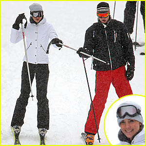 Prince William & Kate Middleton Hit the Ski Slopes