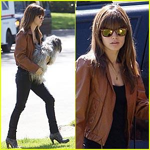 Rachel Bilson is a Leather Lady