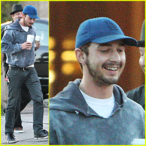 Shia LaBeouf goes to AA