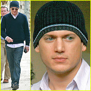 Wentworth Miller Takes a Jerusalem Break