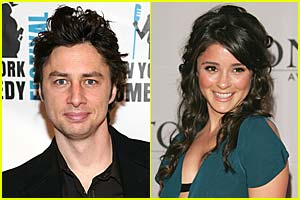 Zach Braff & Shiri Appleby Call it Quits