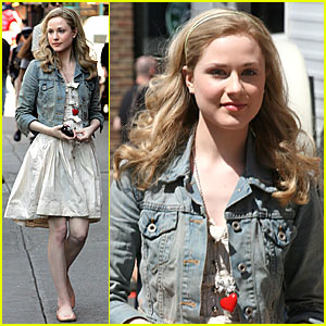Evan Rachel Wood Gets the Woody Allen Treatment