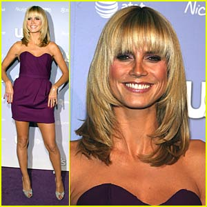 Heidi Klum is Hollywood Style